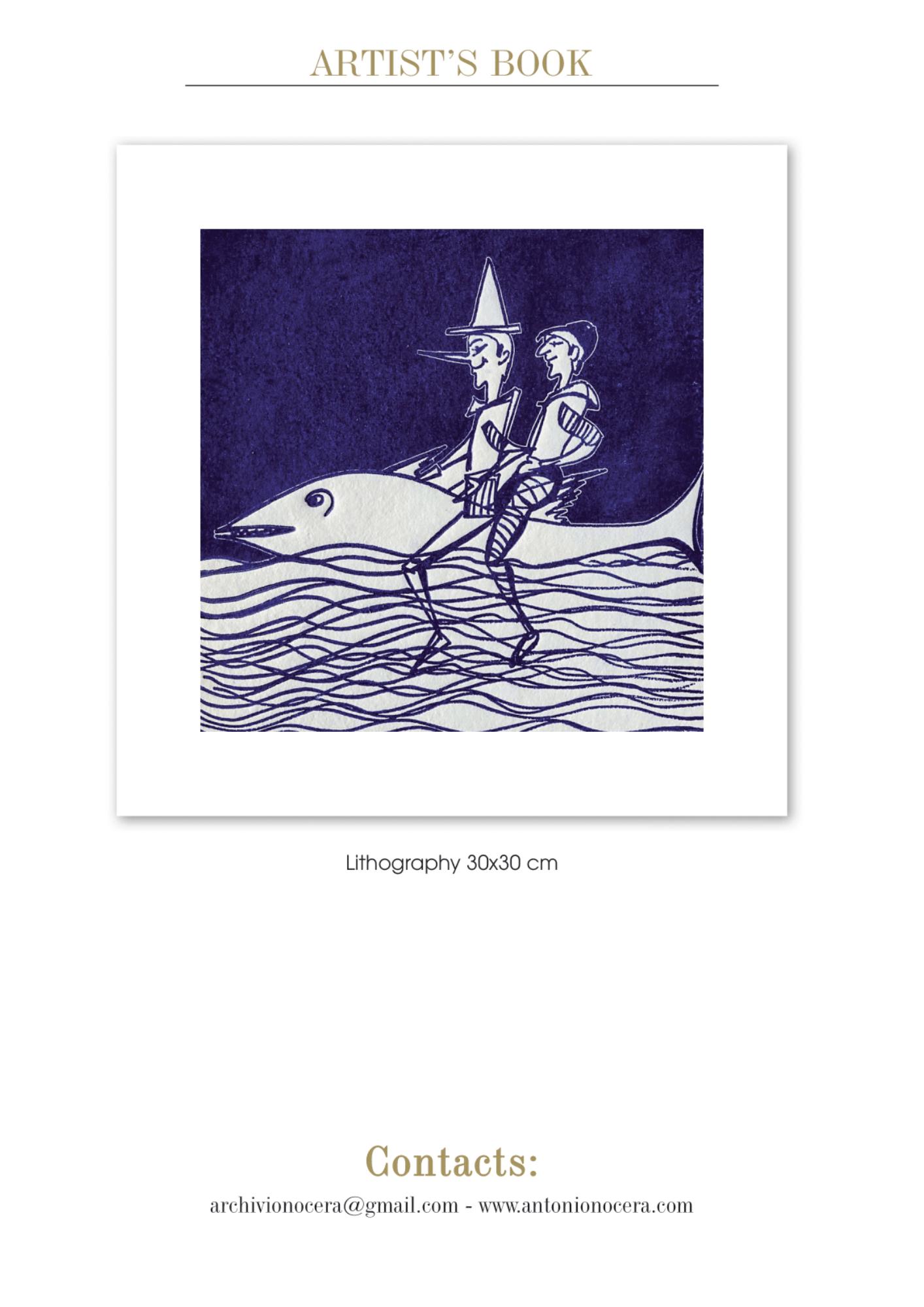 pinocchio litografia